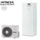 4,0 KW Hitachi Yutaki S2 200 l Combi Lite
